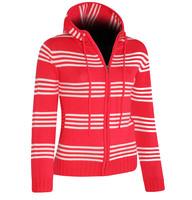 NBFLS1603 ROB - dámský svetr s kapucí dámský svetr s kapucí