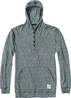 01223005 BUTLER CHARCOAL - pánské triko s kapucí pánské triko s kapucí