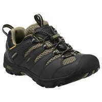 Koven Low WP JR black/burnt olive - juniorská outdoor obuv juniorská outdoor obuv