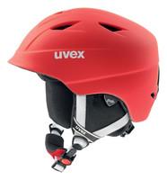 AIRWING 2 PRO red mat - červená dětská lyžařská helma červená dětská lyžařská helma