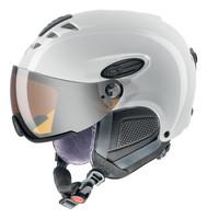 HLMT 300 VISOR - bílá lyžařská helma bílá lyžařská helma