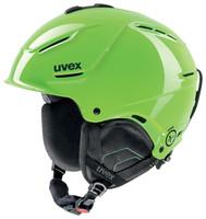 P1US - zelená lyžařská helma zelená lyžařská helma
