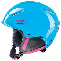 P1US JUNIOR - modrá dětská lyžařská helma modrá dětská lyžařská helma