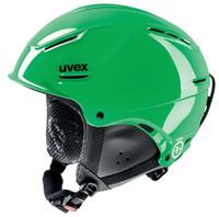 P1US JUNIOR - zelená dětská lyžařská helma zelená dětská lyžařská helma