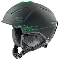 P1US PRO - černá lyžařská helma černá lyžařská helma