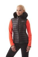 NBWJL4492 CRN FURRY - dámská péřová vesta dámská péřová vesta