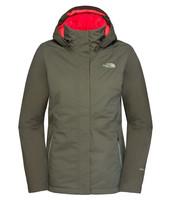 Inlux - dámská zimní bunda zelená dámská zimní bunda zelená