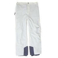 6002 WHITE - Pánské lyžařské kalhoty Pánské lyžařské kalhoty