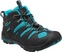 Koven Mid WP K raven/capri - juniorská outdoor obuv juniorská outdoor obuv