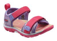 Riley K - dětské sandále fialové / růžové dětské sandále fialové / růžové