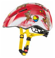 KID 2 bears - dětská helma červená dětská helma červená