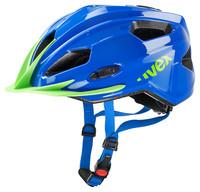 QUATRO JUNIOR blue green - dětská helma modrá dětská helma modrá