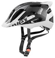 QUATRO PRO black white mat cyklistická helma
