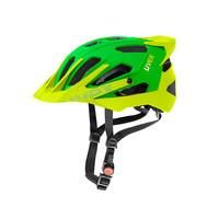QUATRO PRO green lemon mat cyklistická helma