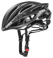 RACE 1 black mat shiny - silniční helma černá silniční helma černá