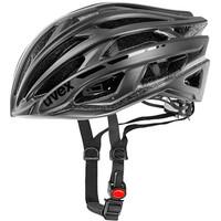 RACE 5 black mat/shiny - silniční helma černá silniční helma černá