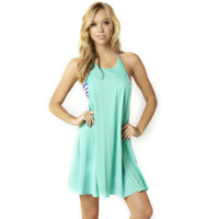 12348 176 Vapors - šaty zelené šaty zelené