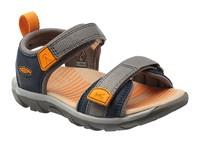 Riley K navy/cheddar- dětské sandály dětské sandály