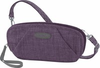 HAZEL WRISTLET WALLET CROSS HATCH washed purple - kapsička