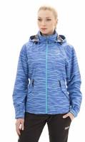 NBSJL4211 Arlena modrý gepard - Dámská jarní bunda Dámská jarní bunda