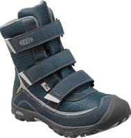TREZZO II WP K midnight navy/gray - dětské zimní boty dětské zimní boty