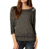 14650-243 Constant Dolman Heather Black