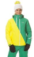 NBWJL5310 ASPIRE citrónová žlutá - Dámská lyžařská bunda Dámská lyžařská bunda