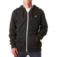Mr. Clean Zip Front Fleece Black - pánská mikina