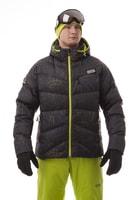 NBWJM4509 GRA - Pánská péřová bunda výprodej pánská péřová bunda