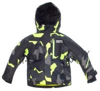 NBWJK4677S GRA - Dětská zimní bunda Dětská zimní bunda