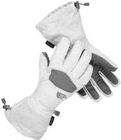 Revelstoke - dámské zimní rukavice bílé dámské zimní rukavice bílé