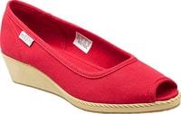 Cortona Wedge CVS ribbon red - dámská městská obuv dámská městská obuv