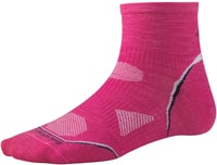 PhD Cycle Ultra Light Mini, bright pink - dámské cyklistické ponožky dámské cyklistické ponožky