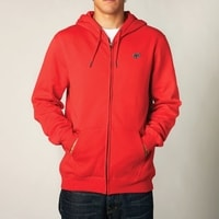 Legacy ZIP FLEECE FLAME RED