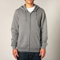 Legacy ZIP FLEECE HEATHER GRAPHITE