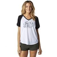 15986-001 TRANSITORY RAGLAN Black - tričko dámské tričko dámské