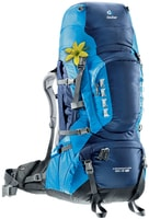 Aircontact PRO 65 + 15 SL midnight-turquoise - dámský turistický batoh dámský turistický batoh