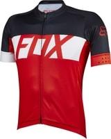 Ascent Ss Jersey Red - cyklistický dres cyklistický dres