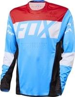15221-189 FLEXAIR DH Cyan - cyklistický dres cyklistický dres