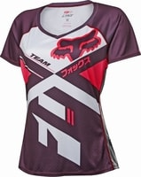 WOMENS LYNX Plum - cyklistický dres cyklistický dres