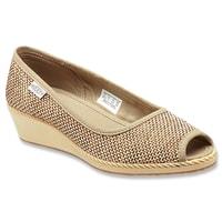 Cortona Wedge Jute kelp - dámská městská obuv výprodej dámská městská obuv výprodej