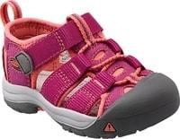 NEWPORT H2 INF berry/coral - kojenecké sandálky kojenecké sandálky