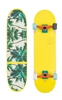 BANSHEE Yellow/Palms - Longboard