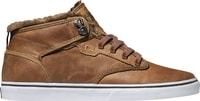 Motley Mid Distressed Brown Fur - Pánské boty Pánské boty