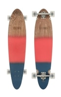 Pinner Classic Red/Navy Spray - Pánský longboard