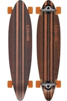 Pinner Black/Orange - longboard