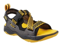 ROCK IGUANA JR black/yellow - juniorské sandály