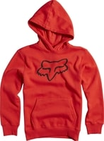 Youth Legacy Pullover Fleece Flame Red