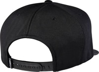 17650 001 Distain Snapback, black - kšiltovka