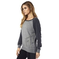 Angled Heather Grey - mikina